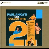 Paul Anka: Paul Anka's 21 Golden Hits