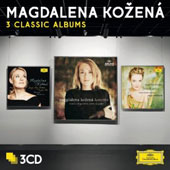 3 Classic Albums - Songs my Mother taught me; Lamento; French Arias / Magdalena Kozena, soprano