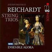 Reichardt: String Trios / Ensemble Agora