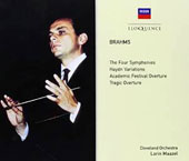 Brahms: The Four Symphonies; Haydn Variations; Academic Festival Overture; Tragic Overture