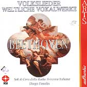 Beethoven: Volkslieder / Fasolis, Lawrence, Beasley, et al