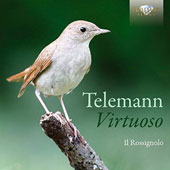 Telemann: 'Virtuoso' - Concertos, sonatas & solo pieces for recorder / Ensemble Il Rossignolo