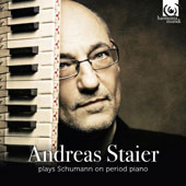 Andreas Staier plays Schumann on Period Piano - Kinderszenen, Album fur die Jugend; Waldszenen; Violin Sonatas Nos.1 & 2; Abegg-Variations; Fantasiestucke / Daniel Sepec, violin