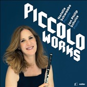 Natalie Schwaabe Plays Piccolo Works of Derek Charke, Franco Donatoni, Gert Wilden, Mike Mower, et al / Natalie Schwaabe, piccolo; Jan Philip Schulze, piano