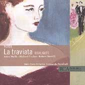 Verdi: La Traviata - Highlights / Previtali, Moffo, Tucker