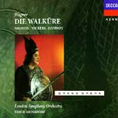 Wagner: Die Walküre / Leinsdorf, Nilsson, Vickers, London