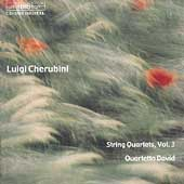 Cherubini: String Quartets Vol 3 / Quartetto David