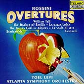 Rossini: Overtures / Levi, Atlanta Symphony Orchestra