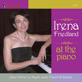 At the Piano - Liszt, Haydn, etc / Irena Friedland