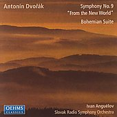 Dvorak: Symphony no 9, etc / Anguélov, Slovak Radio SO