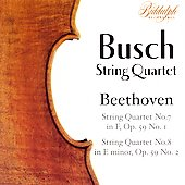 Beethoven: String Quartets / Busch Quartet