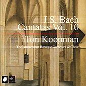 Bach: Complete Cantatas Vol 10 / Koopman, Amsterdam Baroque