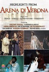 Highlights from Arena di Verona - Favorite Opera Arias [DVD]