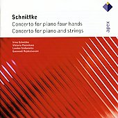Schnittke: Concertos For Piano Four Hands, Concerto For Piano & Strings
