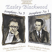 Blackwood: Symphonies 5 & 1 / Munch, DePreist