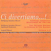 Ci divertiamo - Mozart: Divertimenti, etc / Skou-Larsen