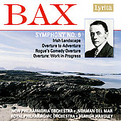 Bax: Symphony no 6, Orchestral Works / Handley, et al