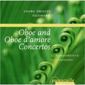 Telemann: Concerti for Oboe and Oboe d'Amore / Dombrecht