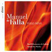 Falla: The Three-Cornered Hat, Fuego fatuo / Antoni Ros Marbà, Royal Philharmonic Orchestra Galicia