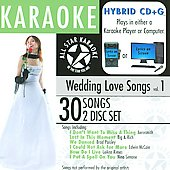 All Star Karaoke: All Star Karaoke: Wedding Love Songs, Vol. 1