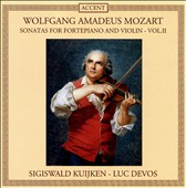Mozart: Sonatas for Fortepiano and Violin, Vol. 2
