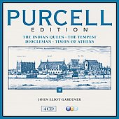 Purcell Edition, Vol. 2: The Indian Queen; The Tempest; Dioclesian; Timon of Athens