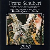 Schubert: String Quartets no 9 & 10 / Brandis Quartet