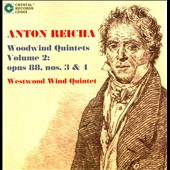 Reicha: Woodwind Quintets Vol. 2 - Op. 88