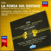 Verdi: La Forza del Destino / Gorchakova, Grigorian, Putilin, Borodina