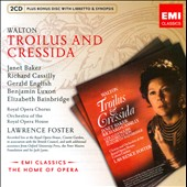Walton: Trolius and Cressida / Baker, Cassilly, English, Luxon, Bainbridge