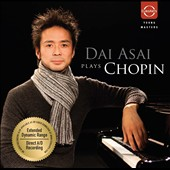 Dai Asai  plays Chopin Nocturnes, Ballade no 4 et al. / Dai Asai, piano