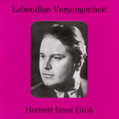Lebendige Vergangenheit - Herbert Ernst Groh