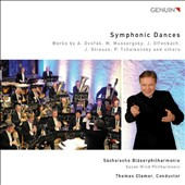 Symphonic Dances - works for winds by Dvorak, Mussorgsky, Offenbach, Strauss & Tchaikovsky / Saxon Wind Phil.