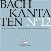 Bach: Cantatas, Vol. 12 - BWV 33, 70 & 151 /  Choir & Orchestra of the J.S. Bach Foundation; Lutz