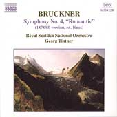 Bruckner: Symphony no 4 / Tintner, Royal Scottish National