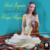 Niccolo Paganinni: 24 Caprices for Solo Violin Opus. 1 / Kinga Augustyn, violin