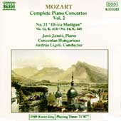 Mozart: Complete Piano Concertos Vol 2 / Jand&oacute;, Ligeti