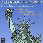 Piano Trios from America - Ives, et al / Altenberg Trio Wien
