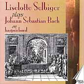 Liselotte Selbiger plays J. S. Bach on Harpsichord