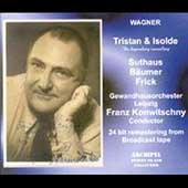 Wagner: Tristan and Isolde / Konwitschny, Suthaus, et al