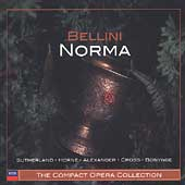 The Compact Opera Collection - Bellini: Norma / Bonynge