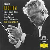 Mozart: Requiem / Anna Tomowa-Sintow, Agnes Baltsa, Werner Krenn, Jose van Dam / Karajan