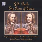 Bach - Two Faces of Genius / Linda Burman-Hall