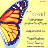 Mozart: Flute Concertos, Symphony no 41 / Zoon, Pearlman