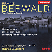 Berwald: Symphonies Vol 2 / Dausgaard