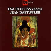 Eva Rehfuss chante Jean Daetwyler