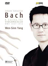 J.S. Bach: The 6 Suites for Solo Violincello / Wen-Sinn Yang [2 CDs / 2 DVDs]