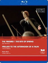 Stravinsky: Firebird, Rite of Spring; Debussy: Prelude to the Afternoon of a Faun / Orchestre de Paris, Jarvi [Blu-Ray]