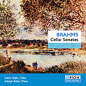 Brahms: Cello Sonatas / Rejto, Baller
