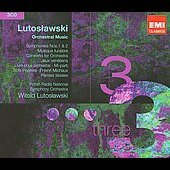 Triples - Lutoslawski: Orchestral Music, etc / Lutoslawski, Devos, Polish Radio SO, et al
